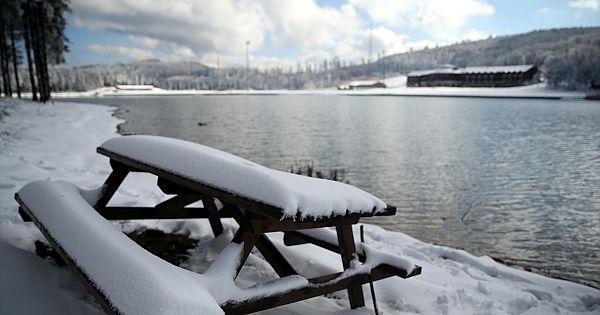 Ülkemizden eşsiz kar görüntüleri