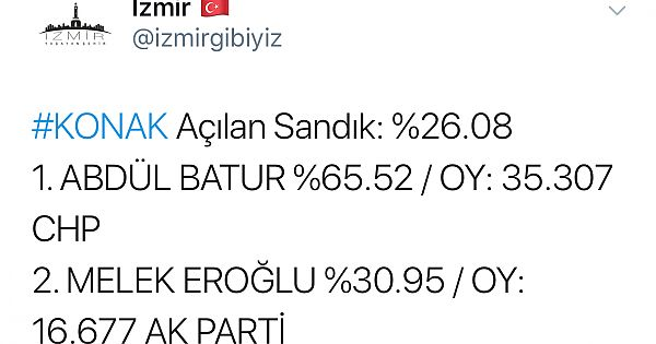 İşte İzmir'de son durum!