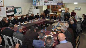 Karabağlar Batur'u destekliyor