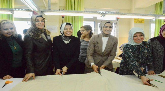 AK Partili kadınlar üretti