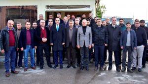 Başkan Atila'dan esnaf ziyareti