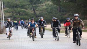 'Doğa için pedalla'