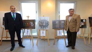 Karikatür sergisi açıldı
