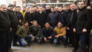 Mustafa Arslan'a sürpriz destek