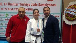 Yunusemreli judocu madalya aldı