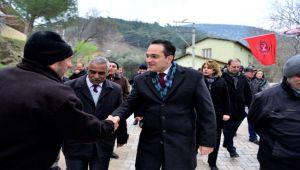 Başkan Atila veda ziyaretlerinde