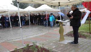 Mehmet Çağatay parkı açıldı