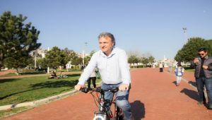 """""""Bisiklet kullanımına teşvik edeceğiz"""""""