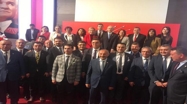 CHP İzmir'den Kılıçdaroğluna geçmiş olsun ziyareti
