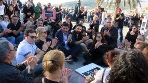 Çocuk İstismarı Foça'da Protesto Edildi