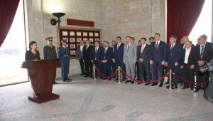 Cumhur İttifakı'ndan Anıtkabir ziyareti