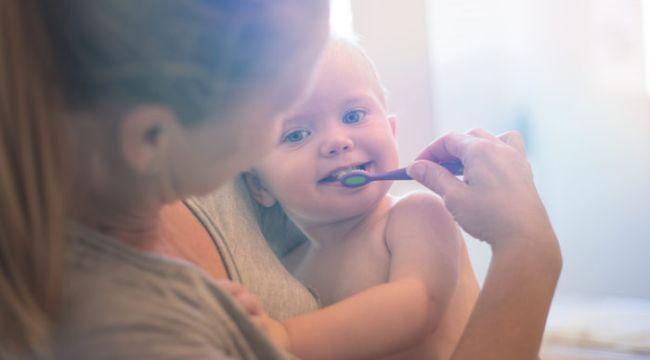 Diş çürüklerini önlemek için!