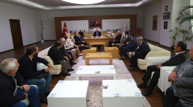 "İYİ Parti'den Selvitopu'na ""hayırlı olsun"" ziyareti"