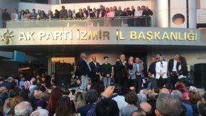 Kerem Ali Sürekli, partililerle buluştu