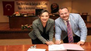 Selçuk'ta Toplu İş Sözleşmesi İmzalandı