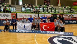 Tekerlekli Sandalye Basketbol Takımı Avrupa üçüncüsü oldu