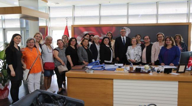 Başkan Arda: Gaziemir'e kadın eli değecek