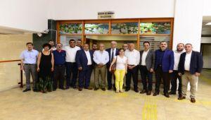 Kani Beko'dan Başkan Karakayalı'ya Ziyaret
