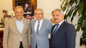 Mehmet Eriş'i makamında ziyaret etti