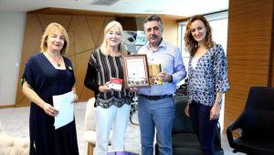 Önder, Sandal'a teşekkür belgesi verdi
