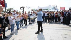 Sakız'dan Karşıyaka'ya dostluk ziyareti