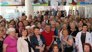 Başkan Tugay 'Bilge Çınarlar' ile buluştu