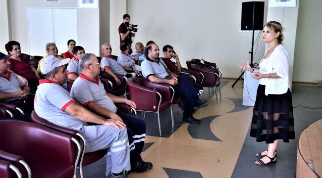 Bornova'da hayat ve hizmet kalitesini artıracak eğitimler