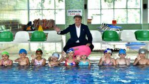Bornova'ya yeni yüzme havuzları müjdesi