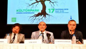 İzmirli Kültürpark için ses verdi