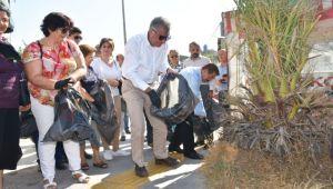 Narlıdere'de temizlik seferberliği!