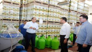 AK Parti'li Dağ'dan fabrika ziyaretleri