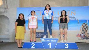 Çeşme Açık Satranç Turnuvası sona erdi