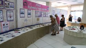 Foça El Emeği Takı Grubu 10'uncu sergisini açtı