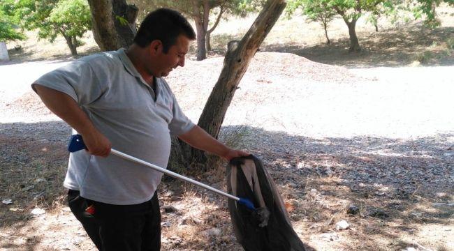 Menderes'te temizlik hareketi