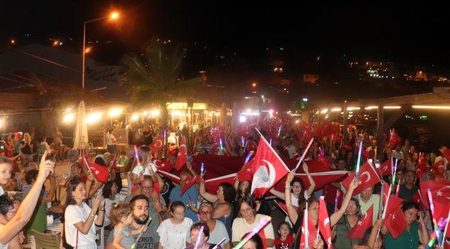 Binlerce vatandaş katıldı