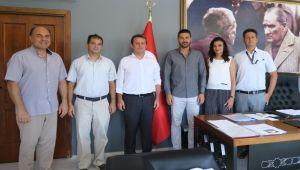 Deniz bilimciler, Gürbüz'ü ziyaret etti