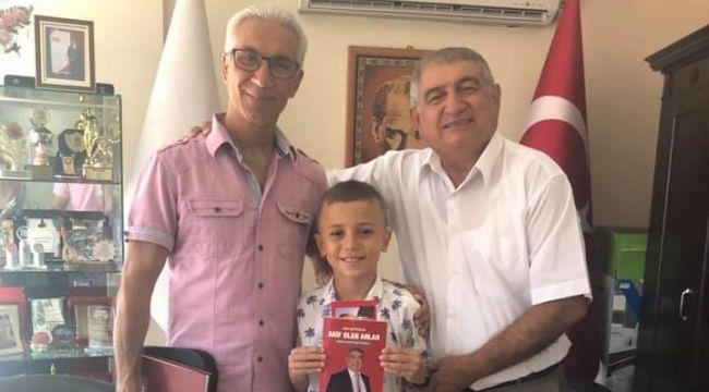 Esnaf 'Küçük Şampiyon'u misafir etti