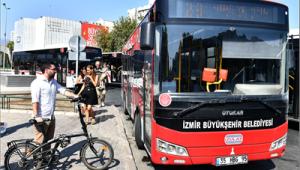 Katlanır bisikletlere otobüs izni