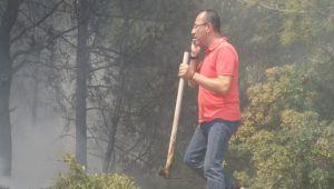 Yangın, Menengeç Koyu'na ilerliyor