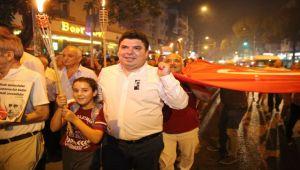 Başkan Kılıç ve Hakan Aysev'den 9 Eylül düeti