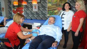 Kan bağışı kampanyası düzenlendi