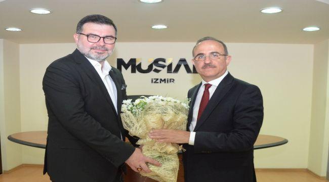 Kerem Ali Sürekli'den MÜSİAD'a Ziyaret