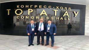 Oğuz ve Sertel'den Yeni Başbakan Nazarov'a Ziyaret