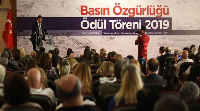 """""""Basın demokrasinin gücüdür"""""""