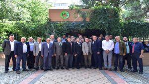 Başkanlar Bornova'da toplandı