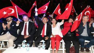 Cumhuriyetin 96.Yılında Urla'da Coşkulu Kutlama
