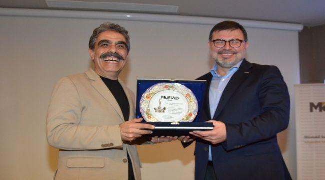 MÜSİAD, İletişim Uzmanı Kızıldağ'ı ağırladı