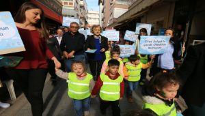 Selçuklu çocuklar haklarını savundu
