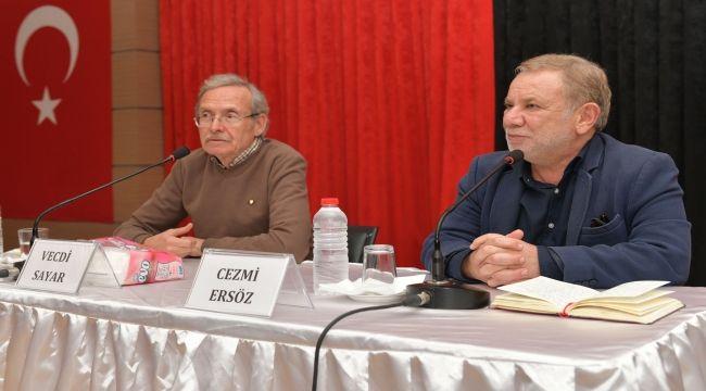 Vecdi Sayar ve Cezmi Ersöz Çiğli'de