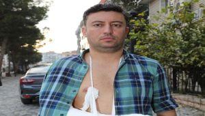 Gaziemir Belediyesi basın çalışanlarına saldırı